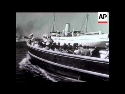 [VIDEO] I prigionieri italiani arrivano ad Alessandria