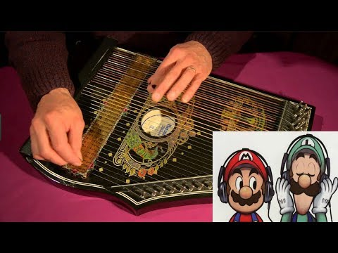 40-Min of Famous Video Game Themes played on a Medieval Zither