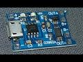 Модуль заряда micro USB TP4056 5В 1А с защитой плата контроля заряда разряда li-ion аккумулятора