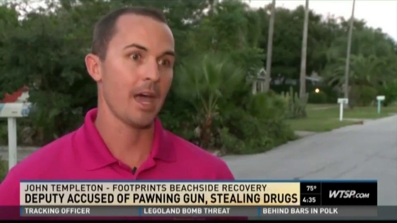 footprints beachside recovery discusses pcso deputy who sold gun to