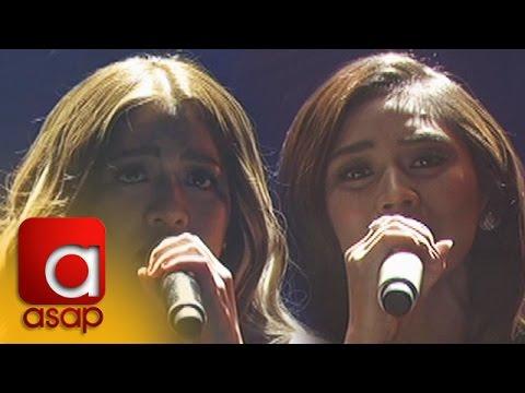 """ASAP: Sarah and Angeline sing """"Pangarap Na Bituin"""""""