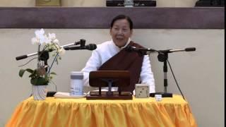 20150422 深坑華藏園區 石媽媽禪十 開示3