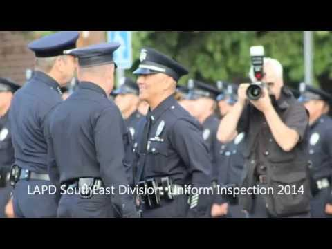 LAPD Southeast Division  Uniform Inspection
