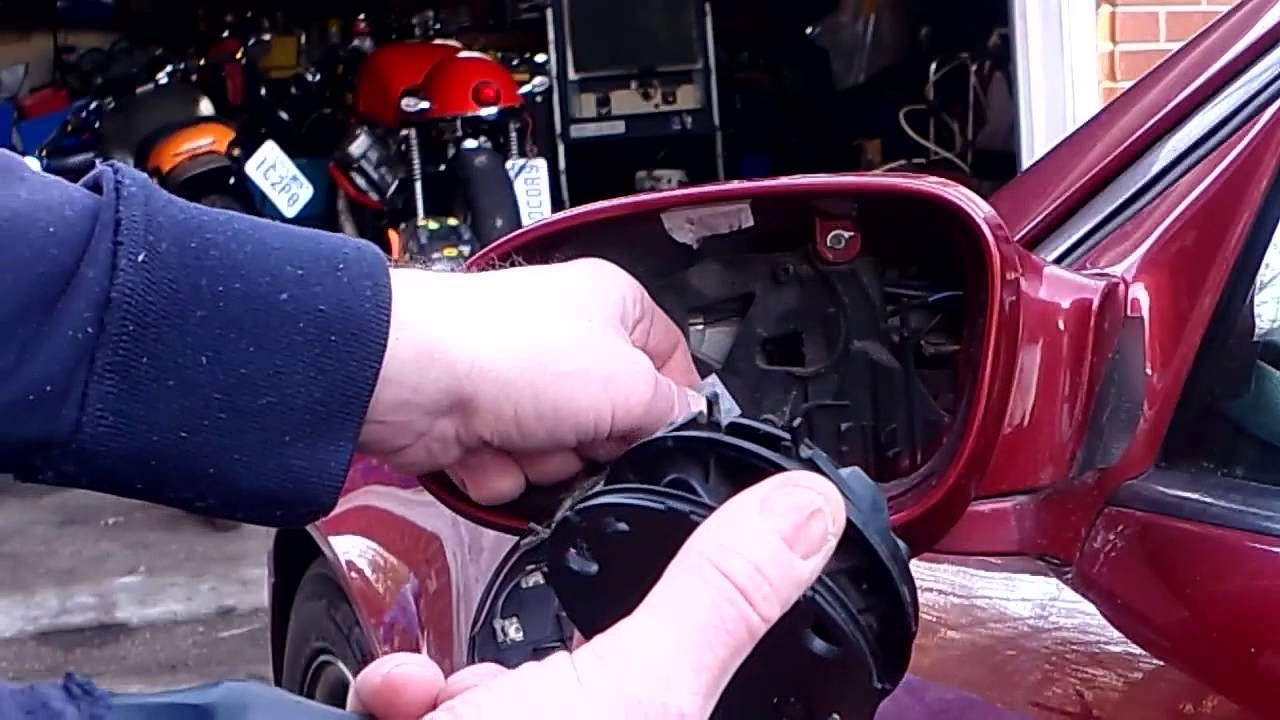 How To Replace Power Mirror Motor Mercedes W208clk R170 Slk Youtube Wiring Diagram