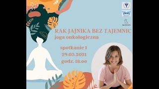 Joga onkologiczna  I  na żywo 29.03  I  Yoga with Paulina