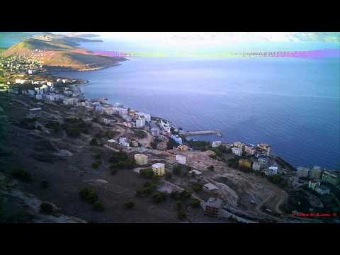 Saranda nga Kalaja e Lekursit ~ Aerial video with Walkera QR
