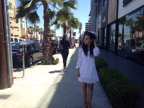 Vlog: Los Angeles, Milk, Urth caffe, West Hollywood, the Grove, Whole foods ♥
