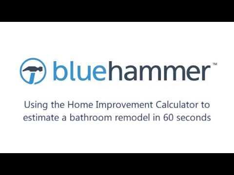 Bluehammer Home Improvement Calculator