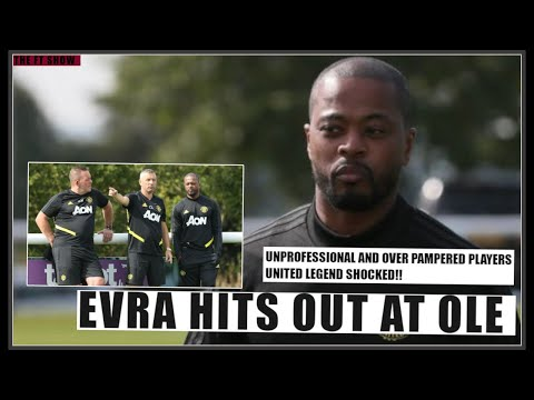 Patrice Evra hits out at Solskjaer & Manchester United! Manchester United News Now!