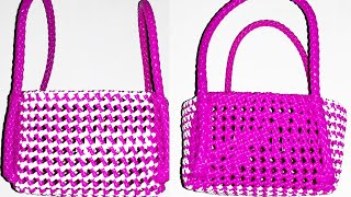 Square Pooja basket making clear tutorial part 1/2