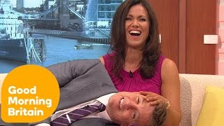 Ben Shephard Lies On Susanna Reid's Lap | Good Morning Britain