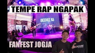 Gambar cover #CINGIRE !! TEMPE RAP NGAPAK - YOUTUBE FANFEST JOGJA !!!