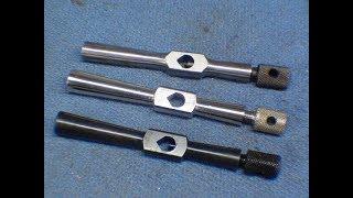 TIPS #390 Make a Small Tap Wrench pt 4 of 4 nickel plating tubalcain thumbnail