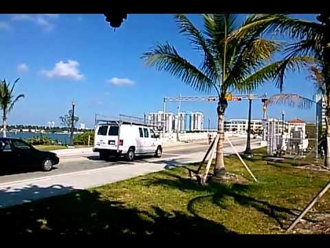 Venetian Causeway, Bahia Biscayne, Miami, June 2013