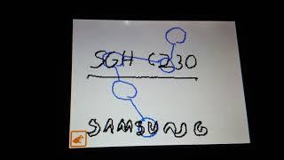 Samsung SGH C230 Startup And Shutdown