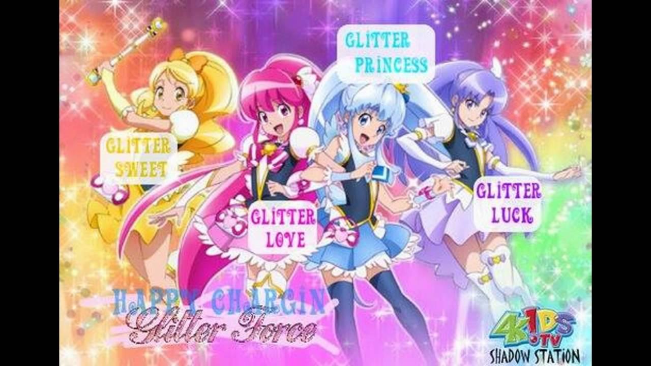 my glitter force tribute - YouTube