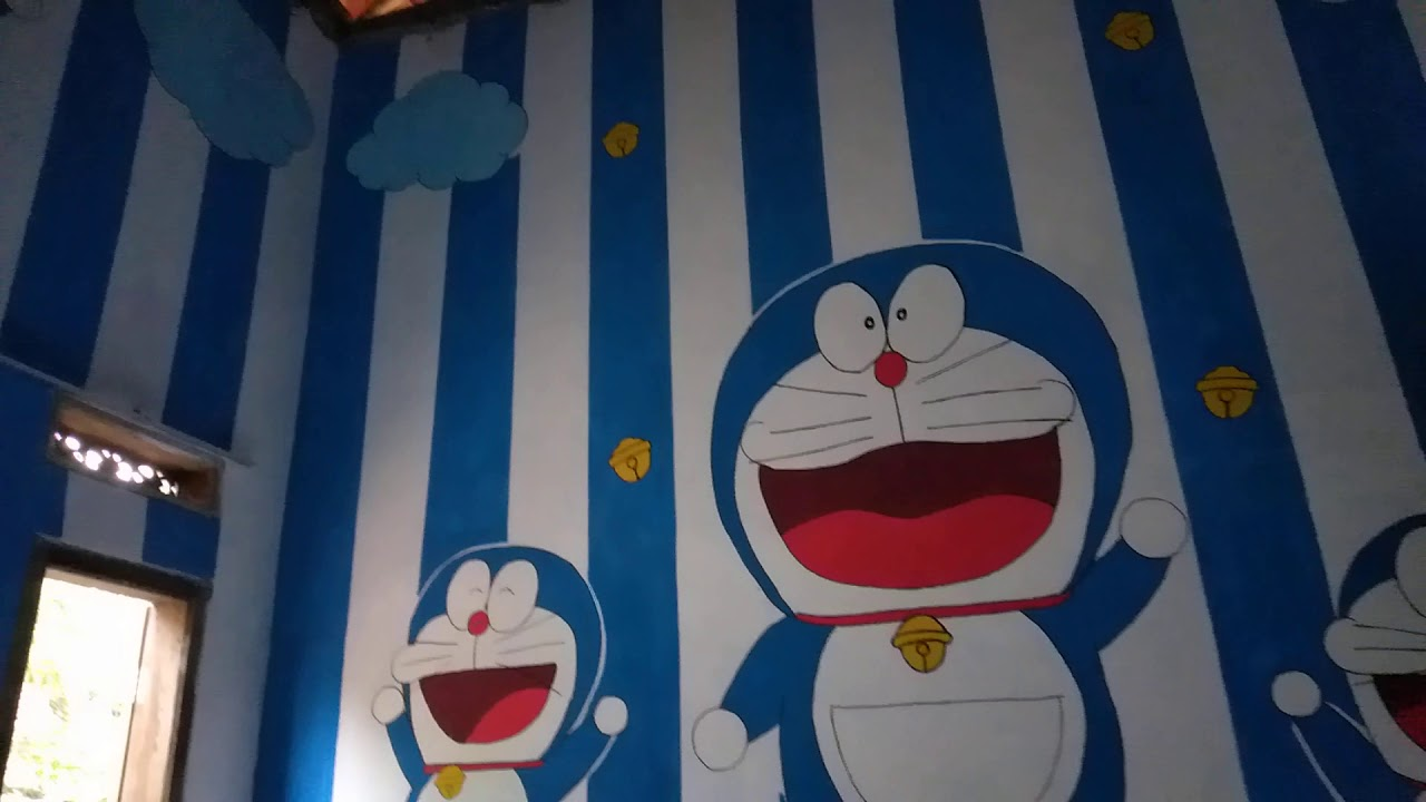 Dekorasi Kamar, Animasi Doraemon & Persib - YouTube