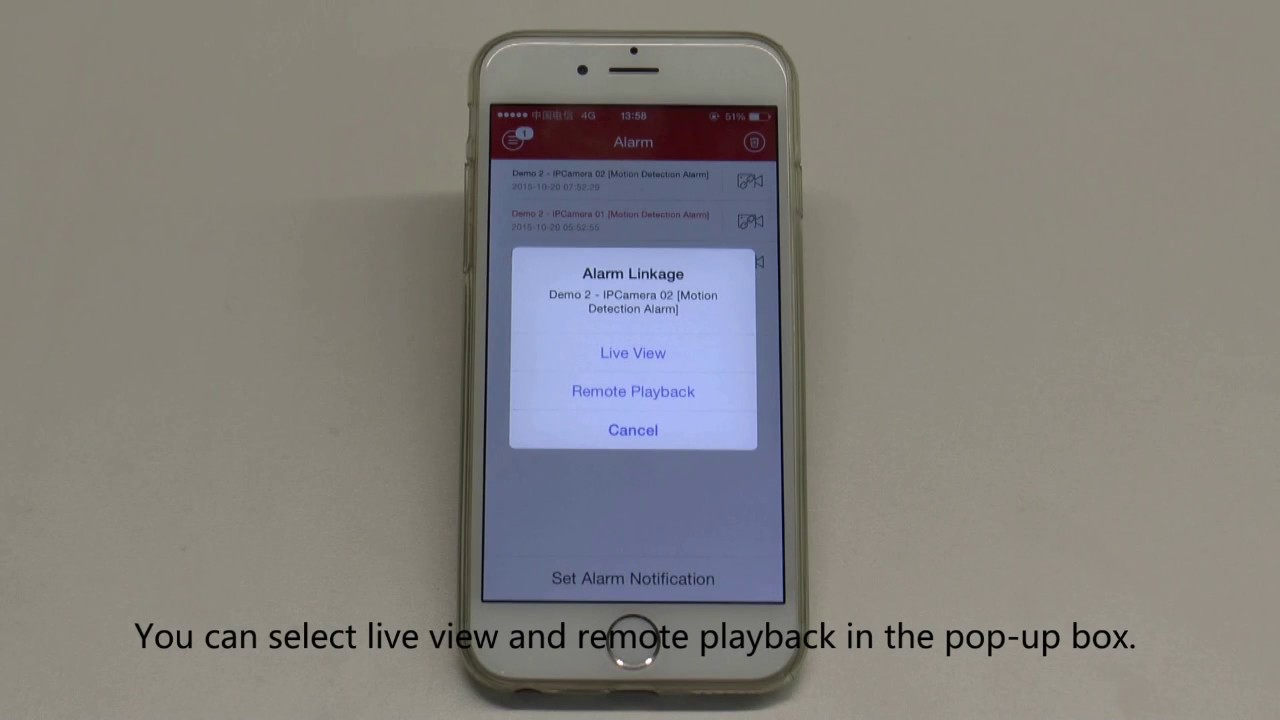 How to setup Push Notifications on the Hikvision iVMS 4500 App