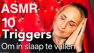 ♥️fijne Valentijnsdag!♥️asmr 10 Triggers Om In Slaap Te Vallen! Asmr Nederlands