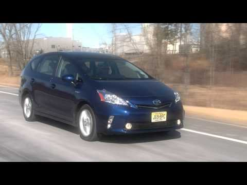 2012 Toyota Prius v - Drive Time Review with Steve Hammes | TestDriveNow