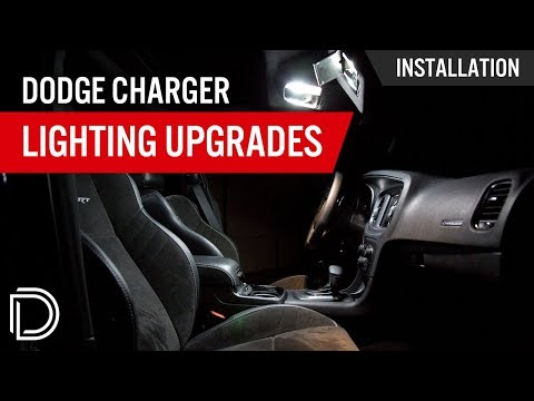 How to Install 2015+ Dodge Charger Interior LEDs