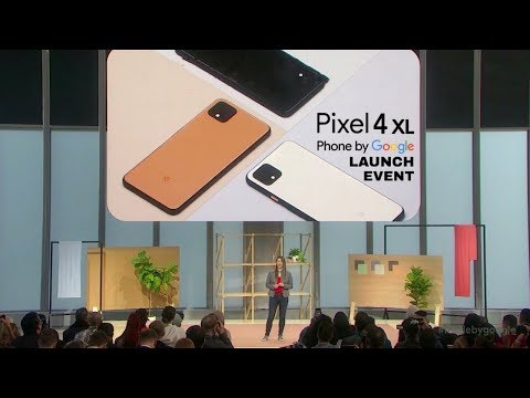 Google I/O 2019 – Google Pixel 4 Launch Event in 12 minutes