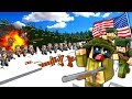 BATTLE OF THE BULGE! - Minecraft WW2 (Call to Battle Mod Gameplay)