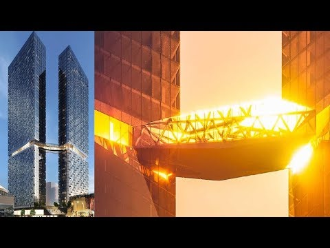 Montreal's Maestria Condos: See The $700m Skyscrapers With The Highest Skybridge In Canada