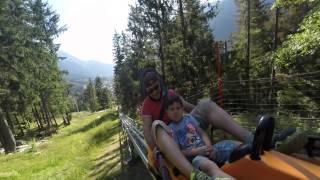 La luge d'été à Chamonix