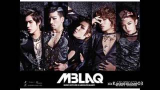 [Audio] My Dream - MBLAQ