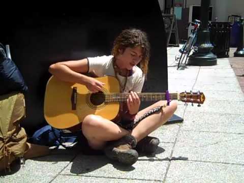 Hannah Samano - Street Musician in Asheville NC