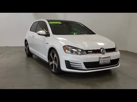 2015 Volkswagen GOLF GTI Hatchback 2.0T SE Folsom Sacramento Roseville Elk Grove El Dorado Hills