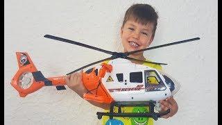 Новая игрушка  Видео для детей про Вертолет