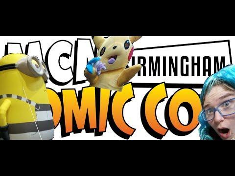 MCM Birmingham Comic Con 2017 Vlog