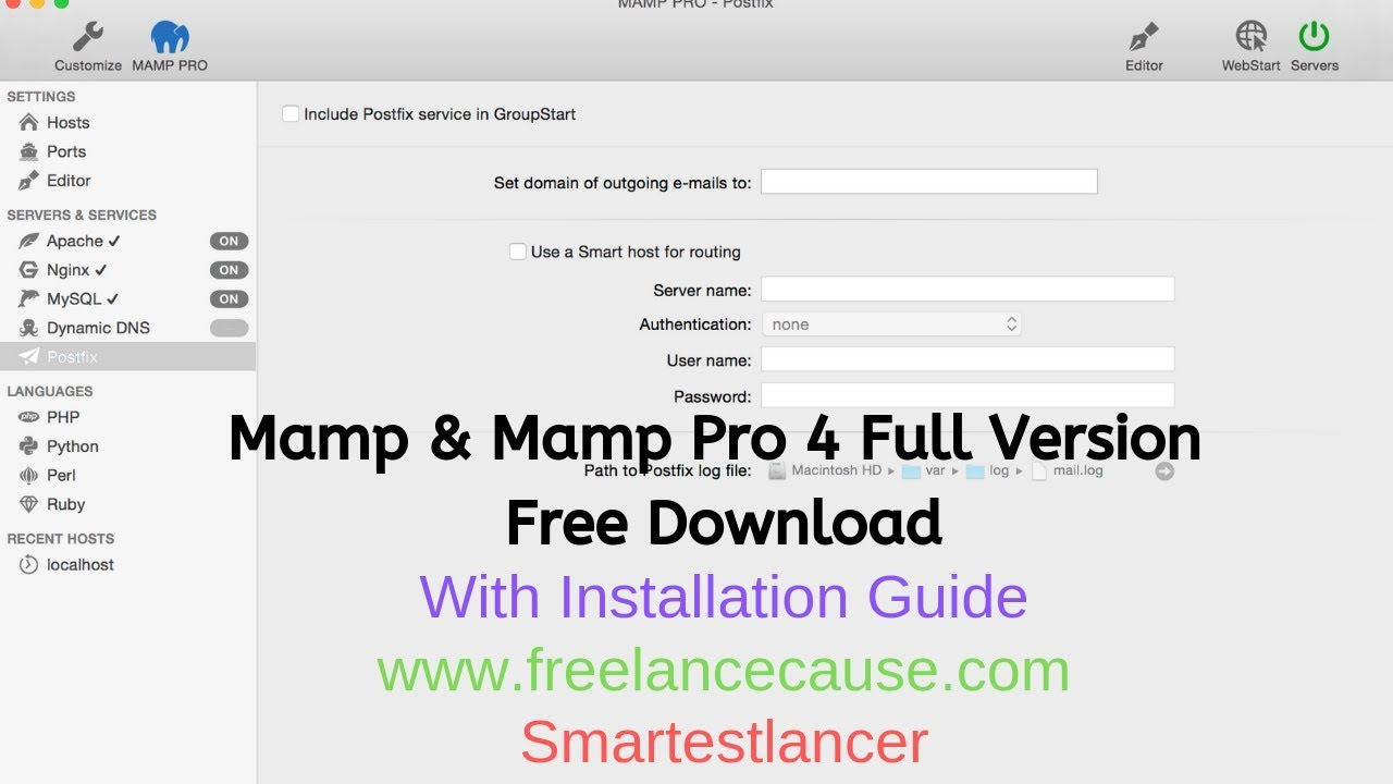 Mamp And Mamp Pro 4 0 1 3 Full Version Free Download with Crack