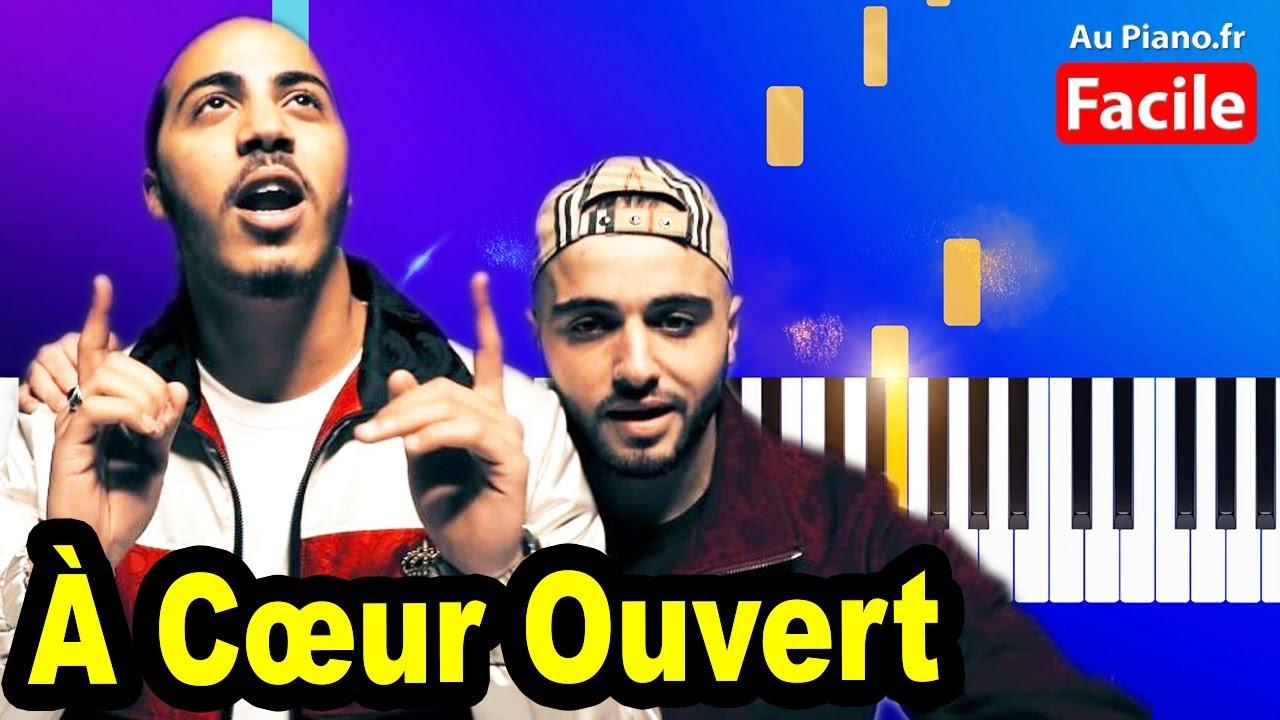 Djadja & Dinaz - À Cœur Ouvert Piano Cover Tutorial Lyrics (Instru Type) -  YouTubeYouTube