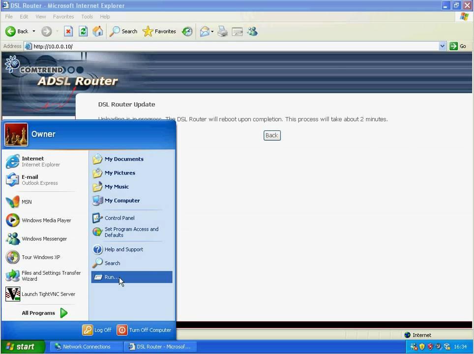 How To Firmware Upgrade A BE Comtrend NexusLink 5631 Line Bonding Router