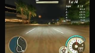 Need for Speed Underground 2 World Map Re-race Event (Wii)