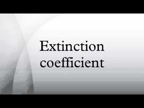 how to find the molar extinction coefficient