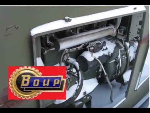 Армейский дизель генератор. 3