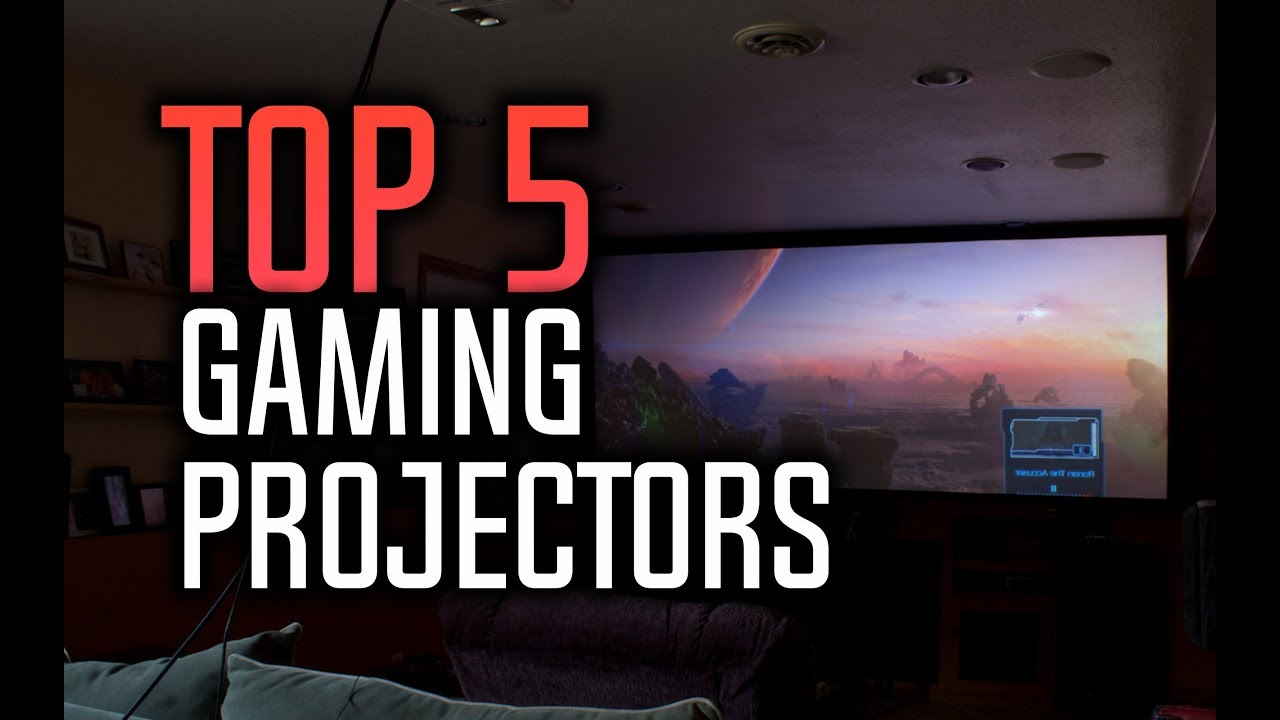 Best Gaming Projectors in 2018 - Which Is The Best Projector For Gaming?