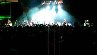 Flogging Molly Intro and first song