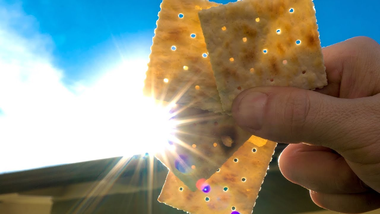 How to View the Solar Eclipse with a Saltine Cracker!