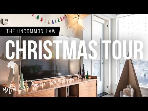 Christmas Apartment Tour 2016