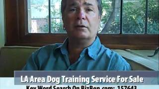 Los Angeles County Dog Training, Boarding Business For Sale