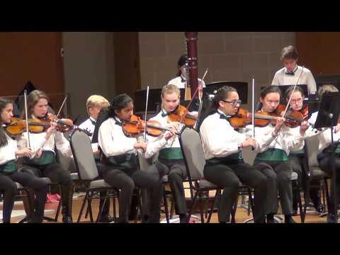 Creekwood Middle School 2017 Orchestra Isha