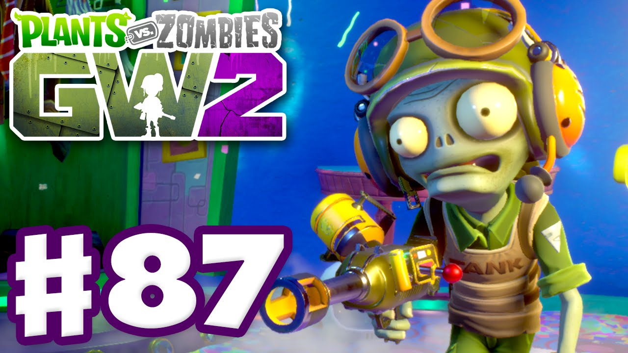 Plants Vs Zombies Garden Warfare 2 Gameplay Part 87 Tank Commander Pc Youtube