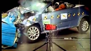 Crash test Opel Tigra 2004