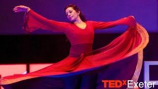 Whirling Mandala™ Sacred Dance | Zia Nath | TEDxExeter