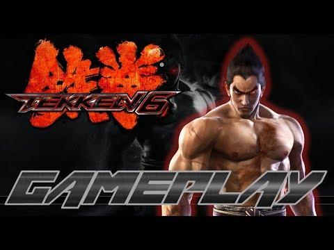 Tekken 6 Gameplay Arcade-Battle (Xbox 360) - Kazuya Mishima